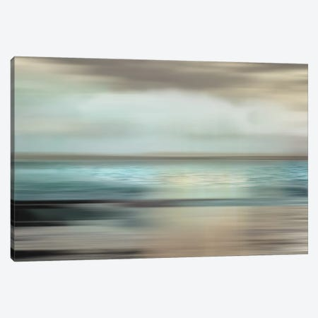 Shimmering Sea Canvas Print #NAN142} by Nan Art Print