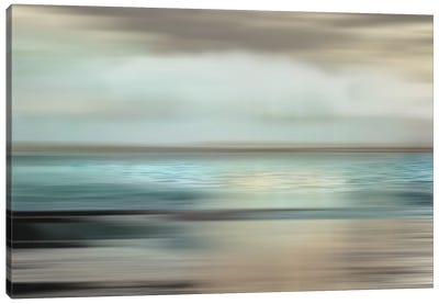 Shimmering Sea Canvas Art Print