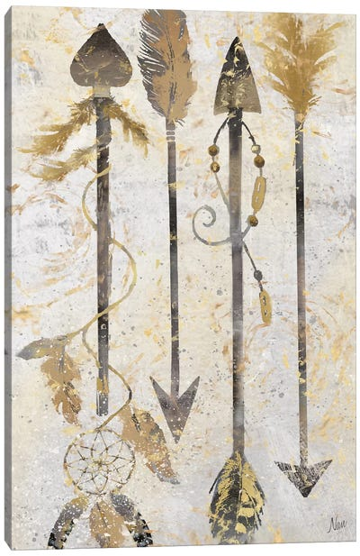 Tribal Arrows Canvas Art Print