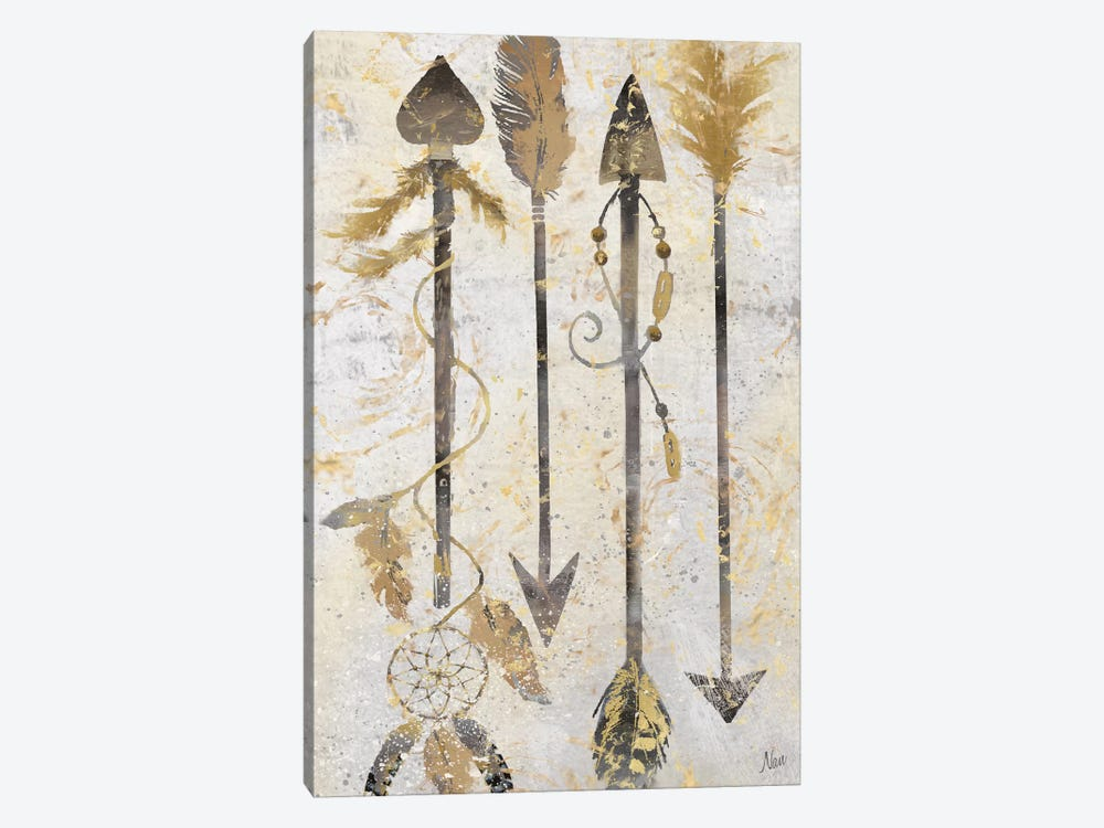 Tribal Arrows 1-piece Canvas Art Print