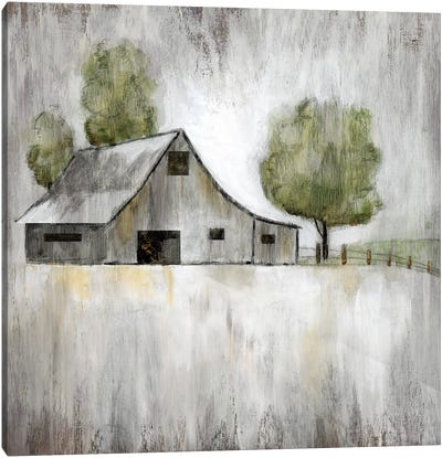 Weathered Barn Canvas Art Print