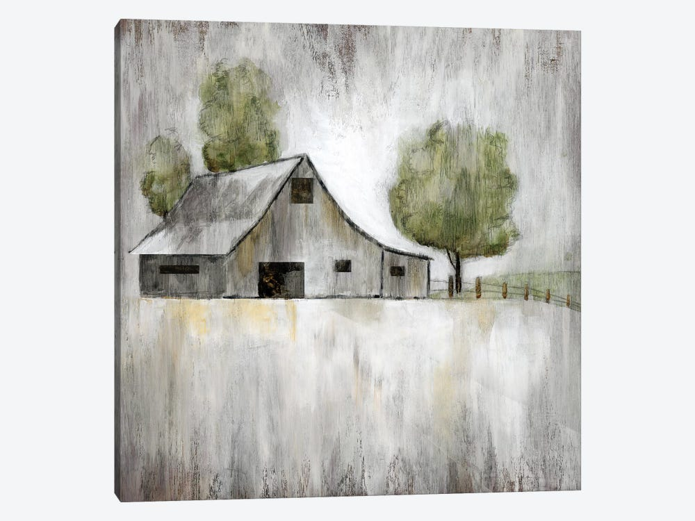 Weathered Barn by Nan 1-piece Canvas Wall Art
