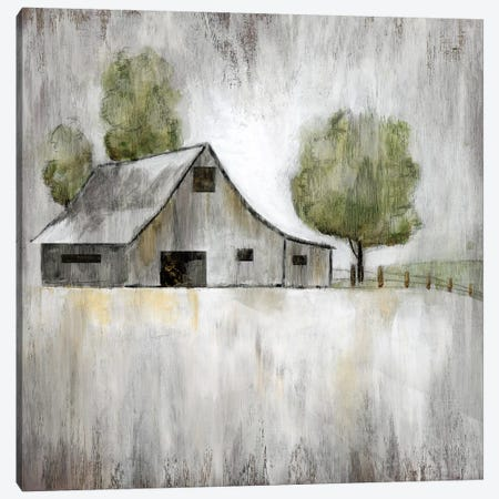 Weathered Barn Canvas Print #NAN158} by Nan Canvas Art