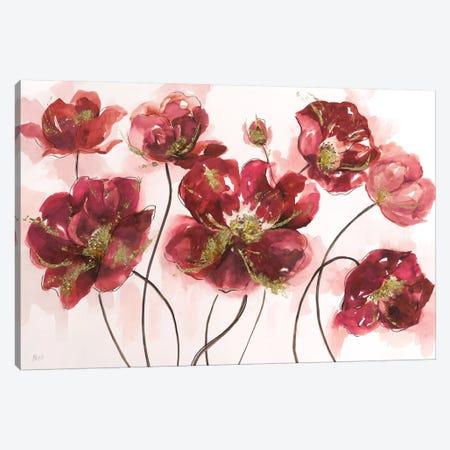 Whispering Poppies Canvas Print #NAN159} by Nan Canvas Artwork