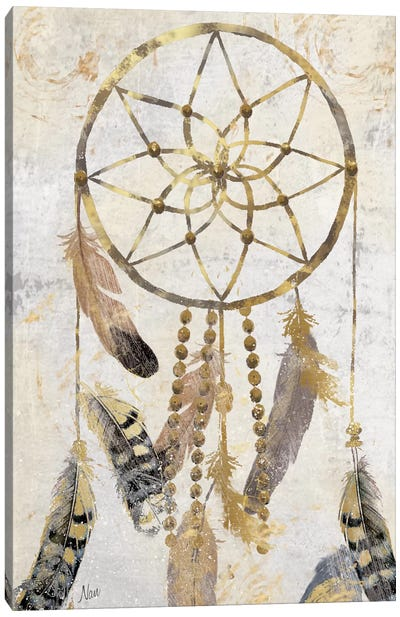 Tribal Dreamcatcher Canvas Print #NAN15