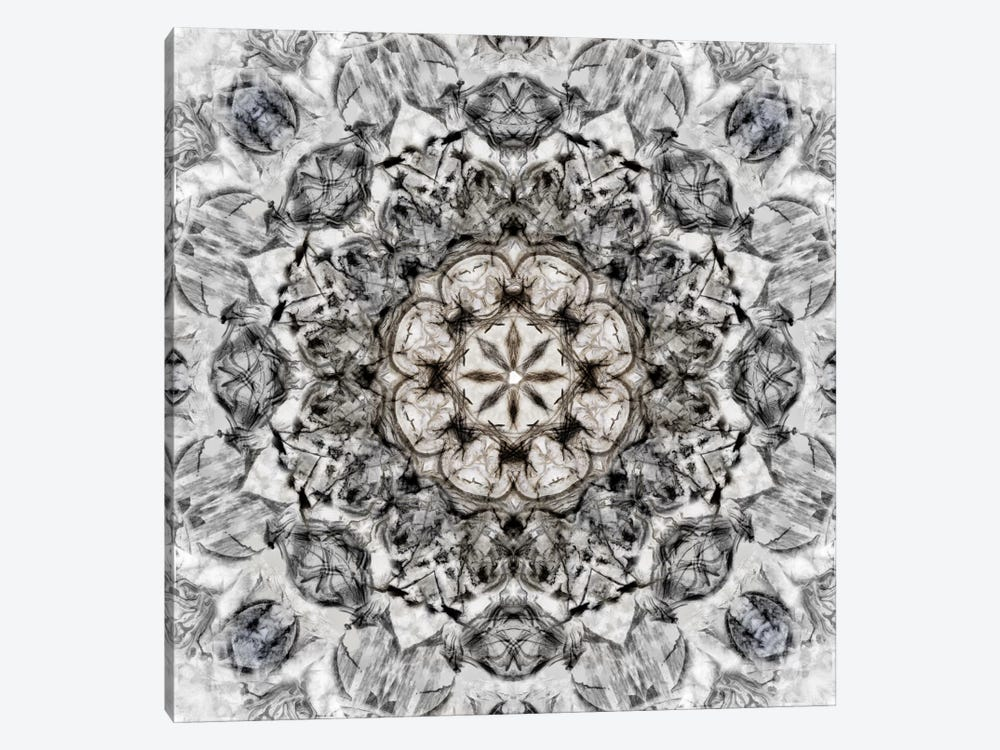 Black White Kaleidoscope I by Nan 1-piece Art Print