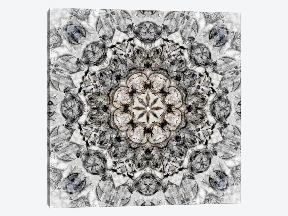 Black White Kaleidoscope I by Nan 1-piece Art Print