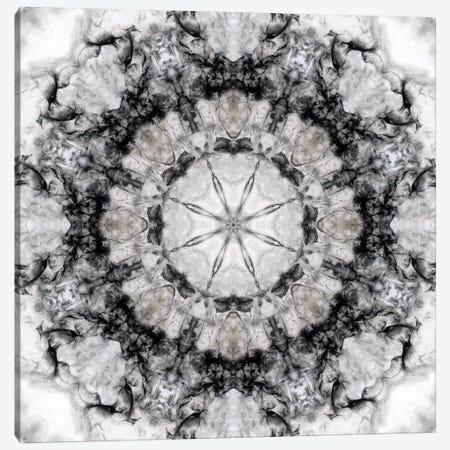 Black White Kaleidoscope III Canvas Print #NAN164} by Nan Canvas Artwork