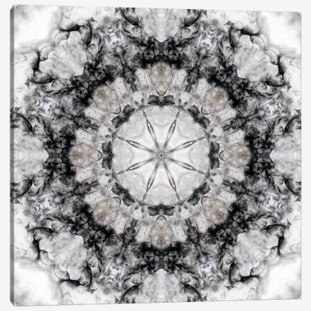 Black White Kaleidoscope III Canvas Print #NAN164} by Nan Canvas Artwork