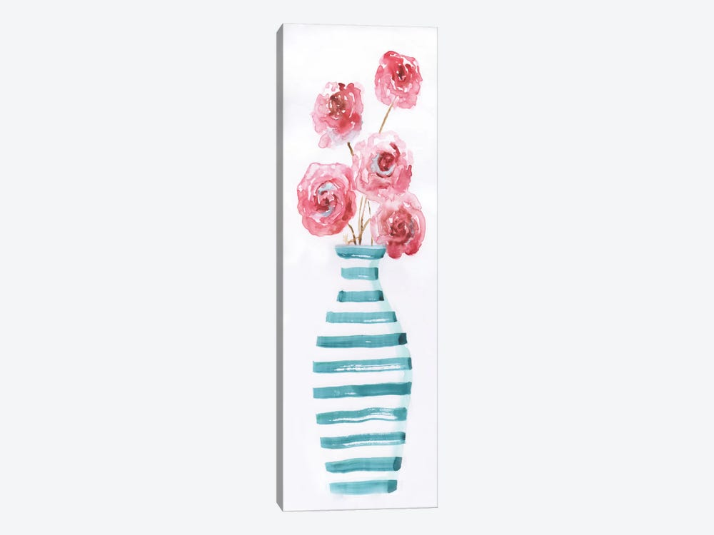 Flower Fun I by Nan 1-piece Canvas Wall Art