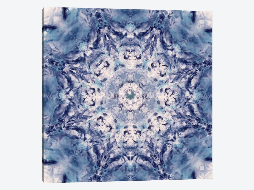 Indigo Gem Kaleidoscope I by Nan 1-piece Canvas Wall Art