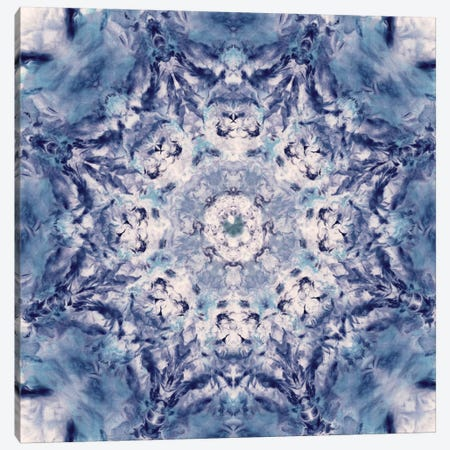 Indigo Gem Kaleidoscope I Canvas Print #NAN176} by Nan Art Print