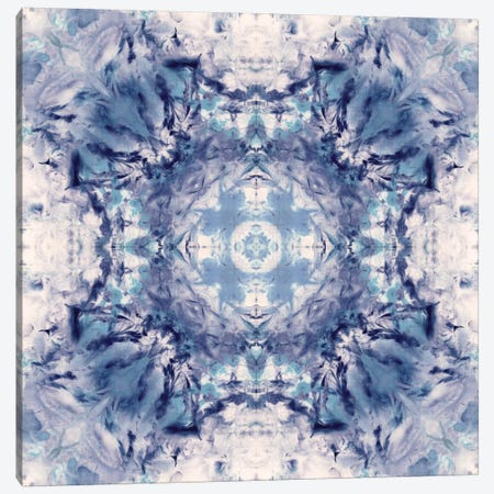 Indigo Gem Kaleidoscope II Canvas Print #NAN177} by Nan Canvas Print