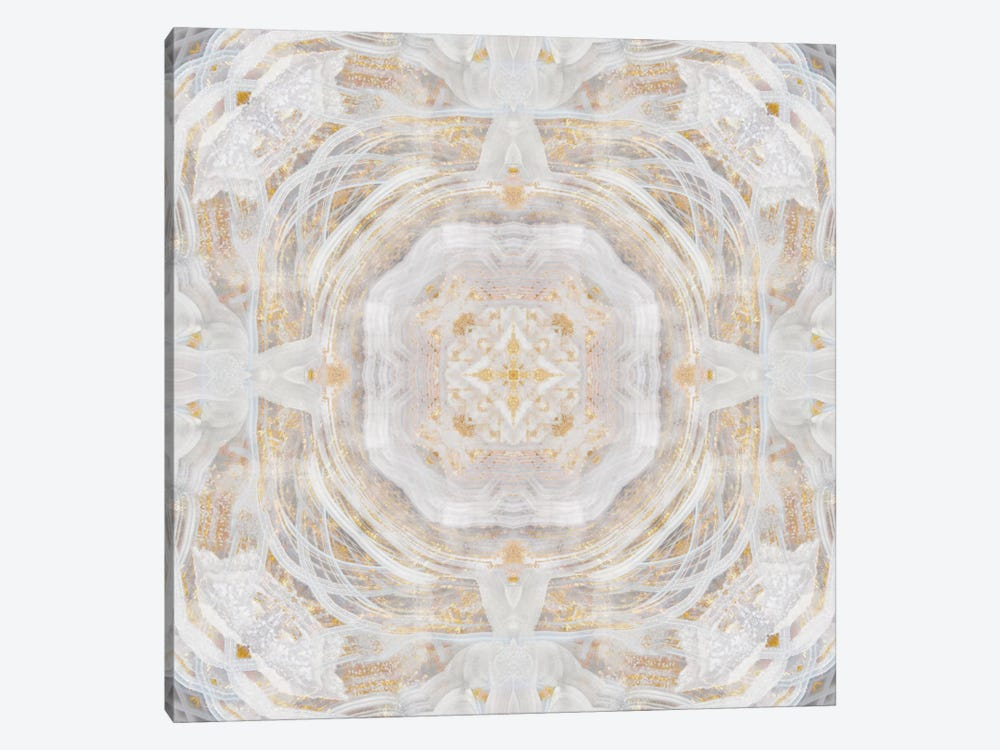 Light Metallic Kaleidoscope I by Nan 1-piece Canvas Art