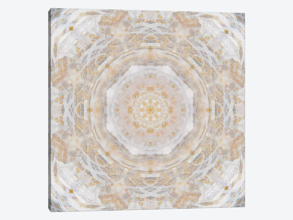 Light Metallic Kaleidoscope II by Nan 1-piece Art Print