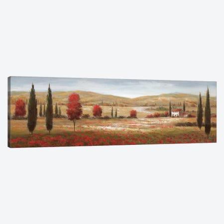 Tuscan Poppies I Canvas Print #NAN18} by Nan Canvas Art