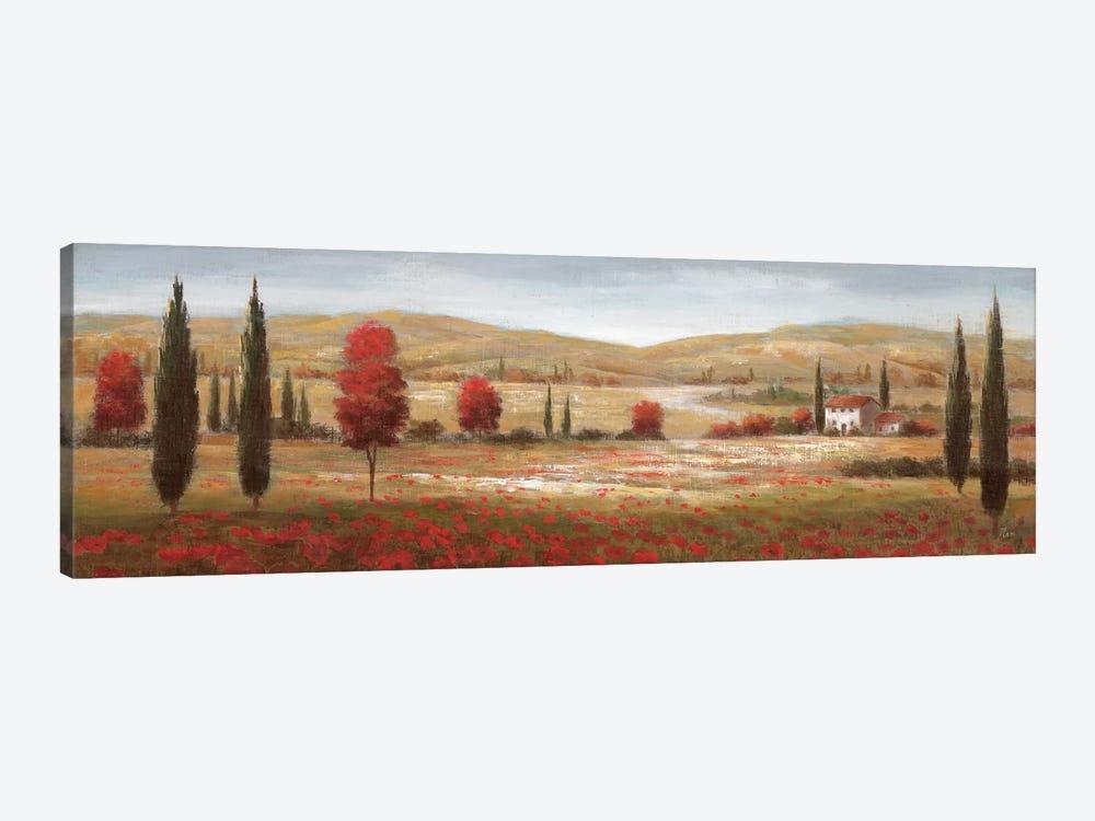 Tuscan Poppies I by Nan 1-piece Canvas Art Print