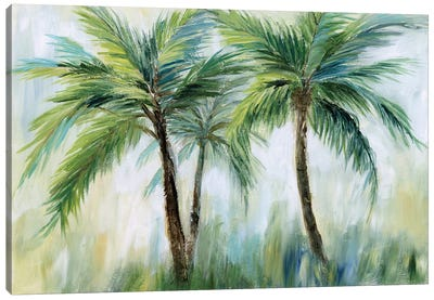 Palm Sensation Canvas Art Print
