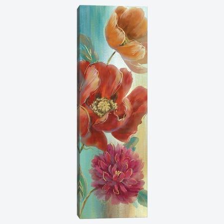 Poppy Panel Red I 3-Piece Canvas #NAN192} by Nan Canvas Artwork