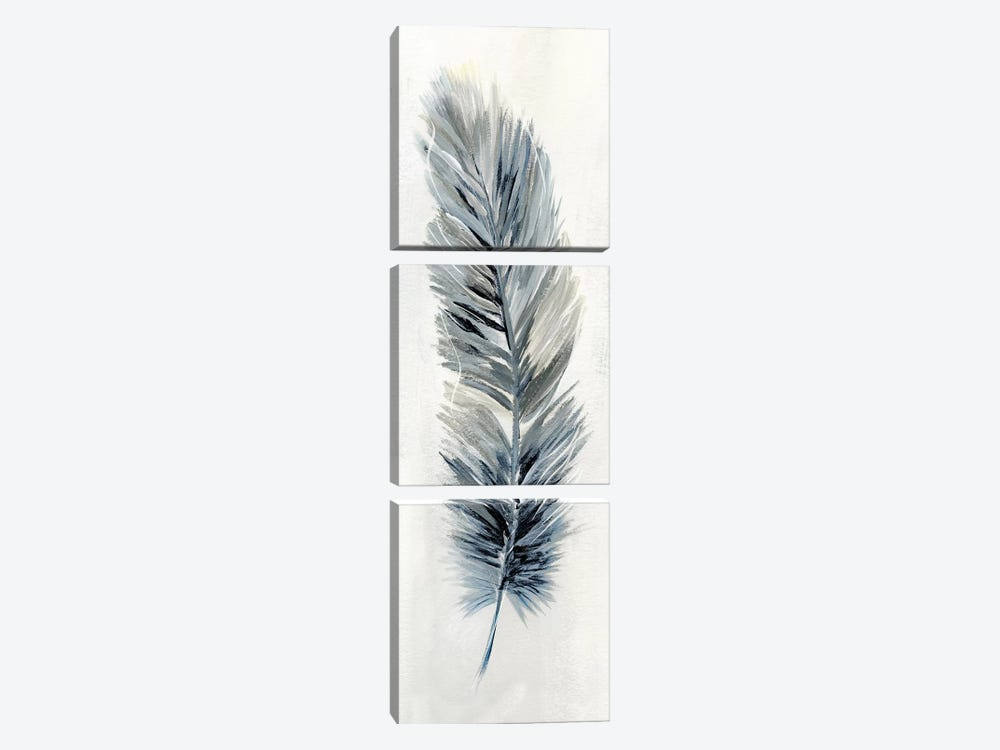 Soft Feather II by Nan 3-piece Canvas Print