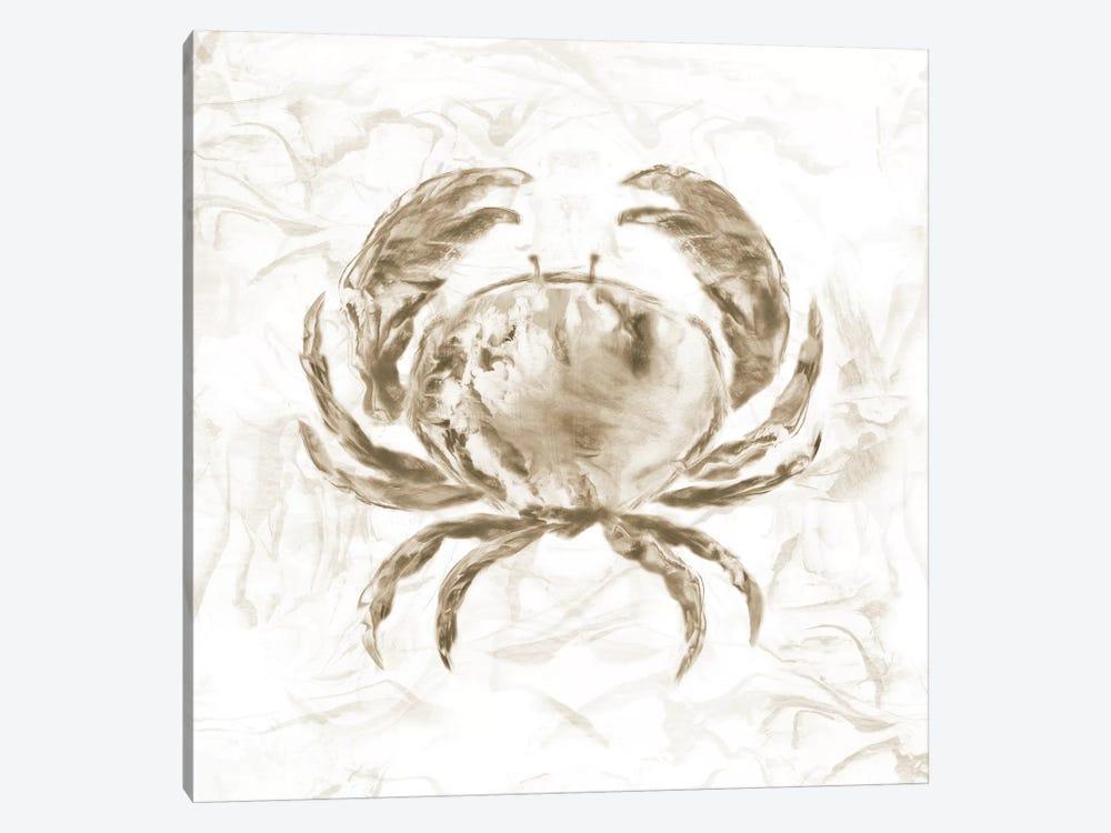 Soft Marble Coast Crab by Nan 1-piece Art Print
