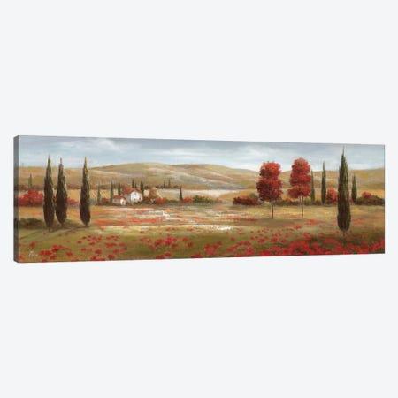 Tuscan Poppies II Canvas Print #NAN19} by Nan Canvas Wall Art
