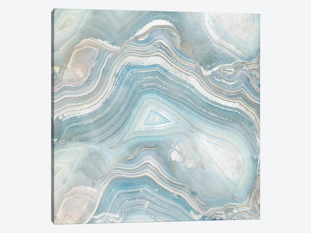 Agate in Blue I by Nan 1-piece Canvas Art
