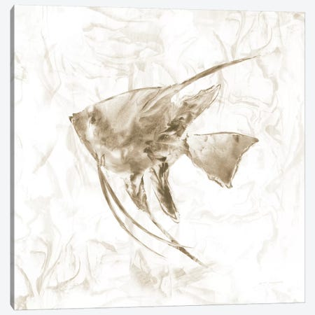 Soft Marble Tropical Fish Canvas Print #NAN202} by Nan Canvas Art