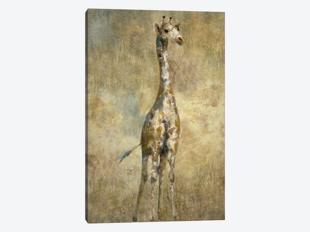 Summer Safari Giraffe by Nan 1-piece Canvas Art Print