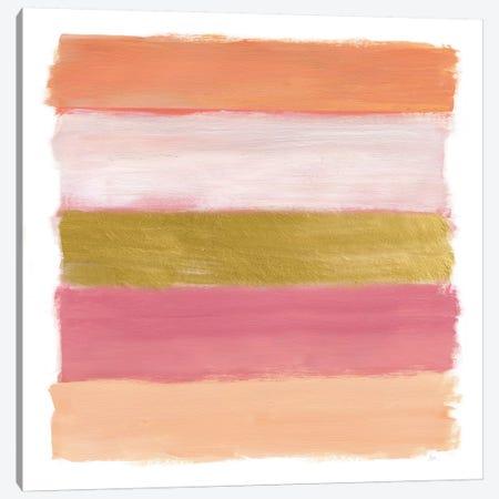 Brush Strokes Canvas Print #NAN209} by Nan Canvas Artwork