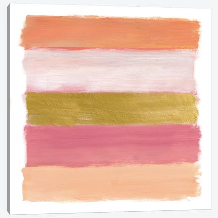 Brush Strokes Canvas Print #NAN209} by Nan Canvas Artwork