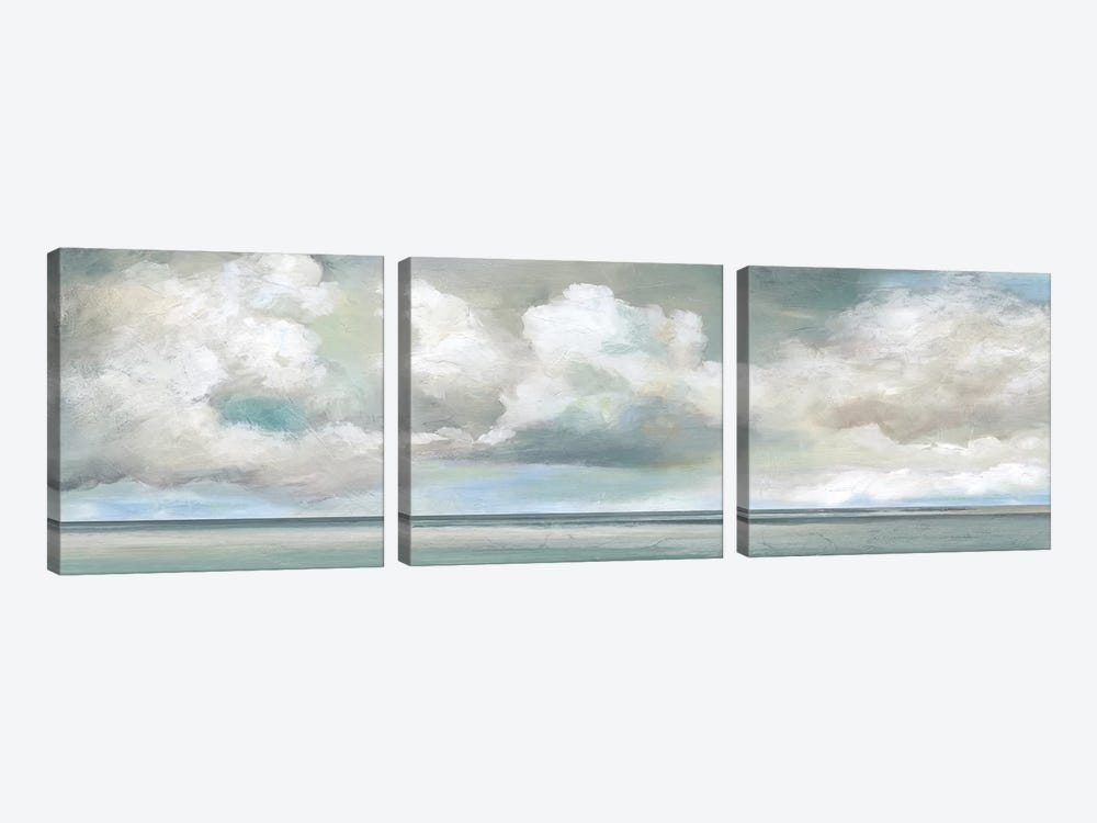 Cloudscape Vista I by Nan 3-piece Canvas Art Print