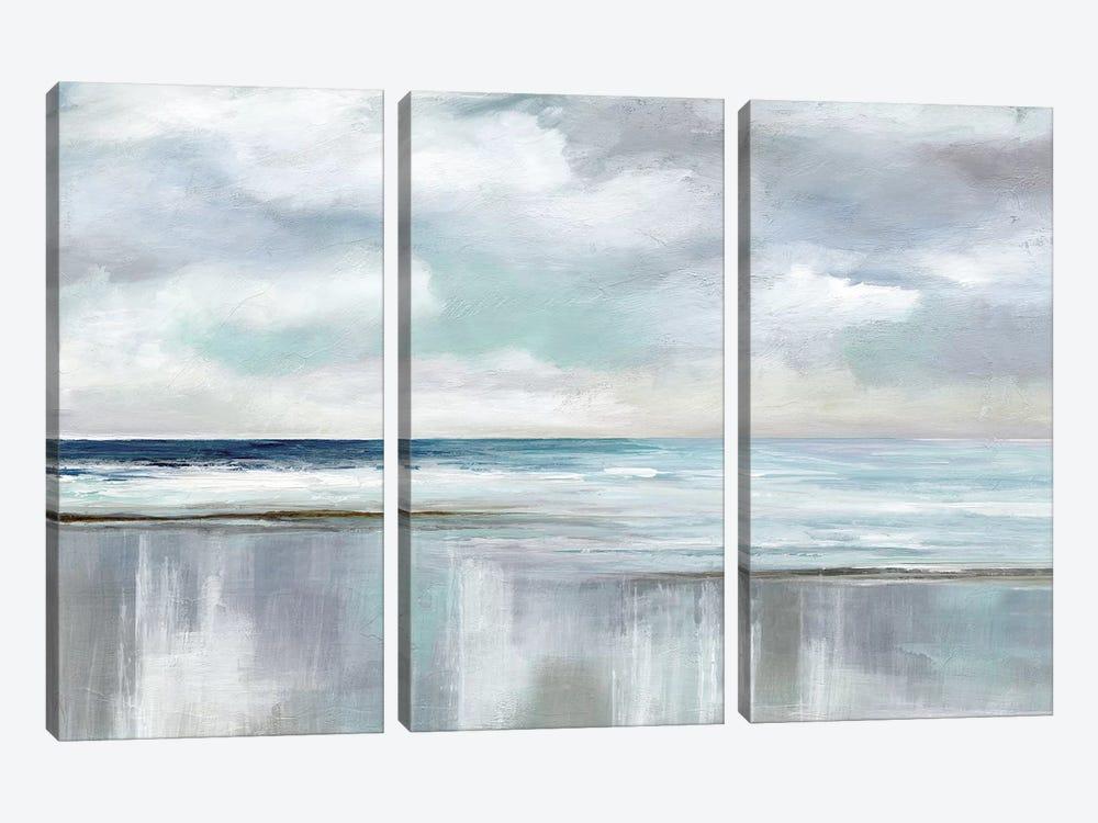 Cyan Sunrise by Nan 3-piece Canvas Art