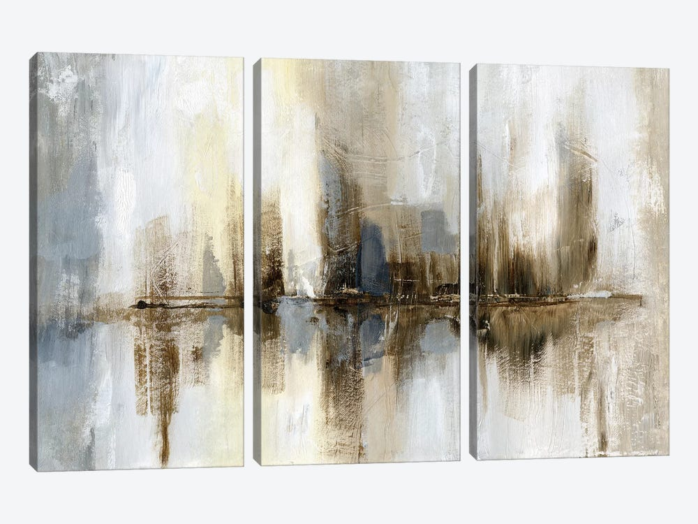 Harbor Lights by Nan 3-piece Canvas Artwork