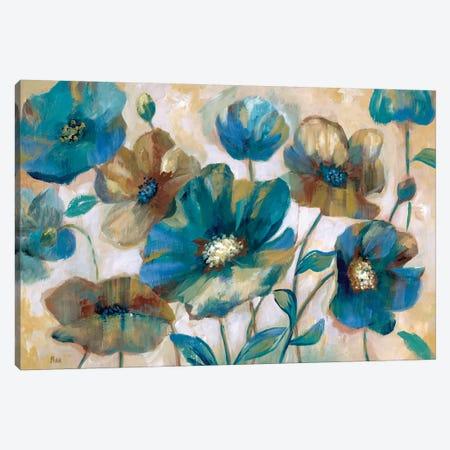 Indigo Garden Canvas Print #NAN226} by Nan Canvas Art Print