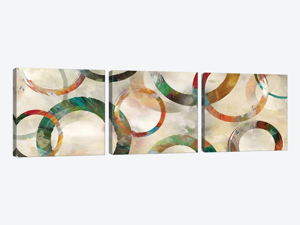 Rings Galore by Nan 3-piece Canvas Art Print