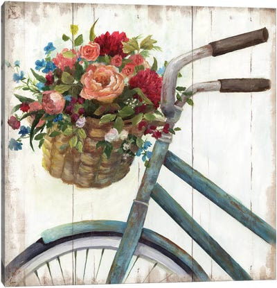 Sunday Ride Canvas Art Print