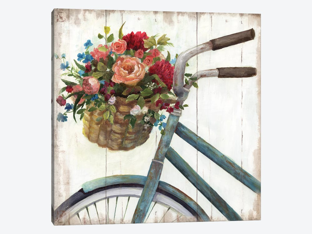 Sunday Ride 1-piece Canvas Art Print