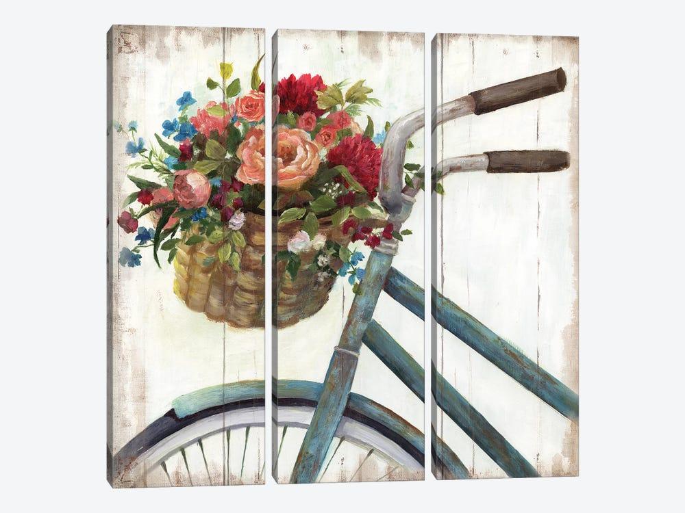 Sunday Ride by Nan 3-piece Art Print