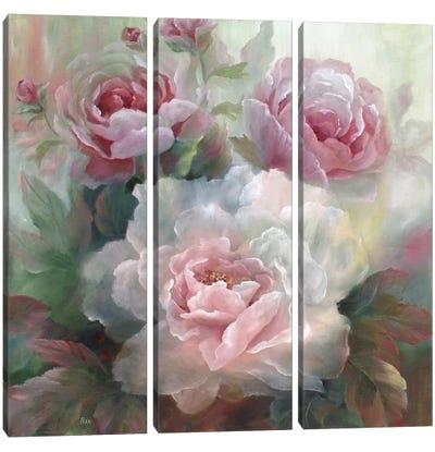 White Roses III Canvas Art Print