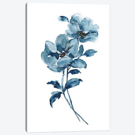 Blue Botanique I 3-Piece Canvas #NAN250} by Nan Art Print