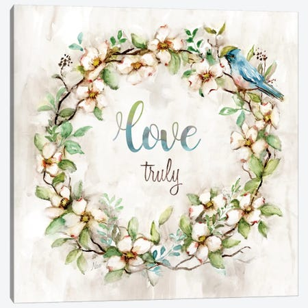 Love Truly Canvas Print #NAN255} by Nan Canvas Artwork