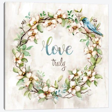Love Truly Canvas Print #NAN255} by Nan Canvas Artwork