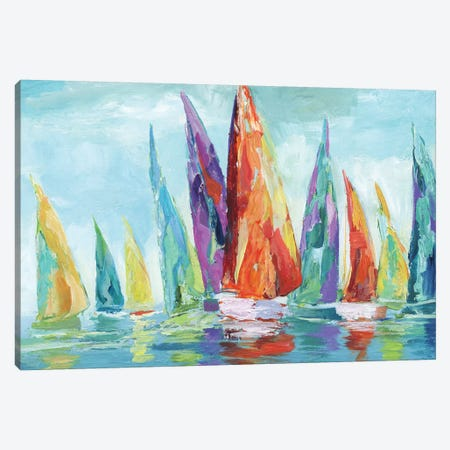 Fine Day Sailing I Canvas Print #NAN261} by Nan Canvas Artwork