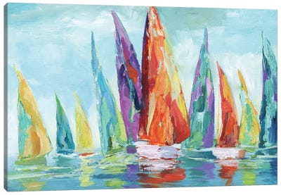 Fine Day Sailing I Canvas Art Print