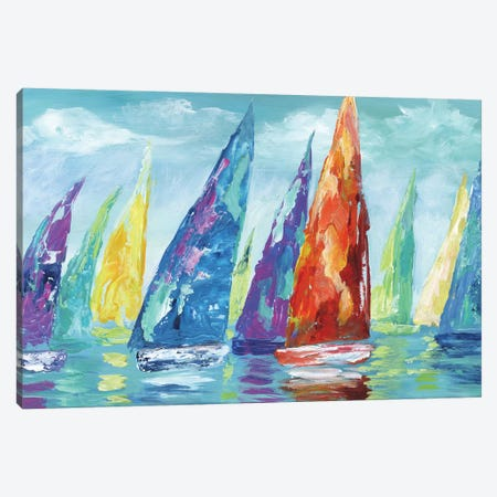 Fine Day Sailing II Canvas Print #NAN262} by Nan Canvas Art