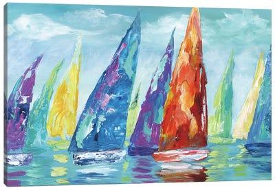 Fine Day Sailing II Canvas Art Print