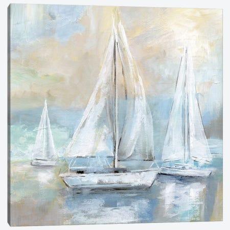 Sail Away 3-Piece Canvas #NAN263} by Nan Canvas Wall Art