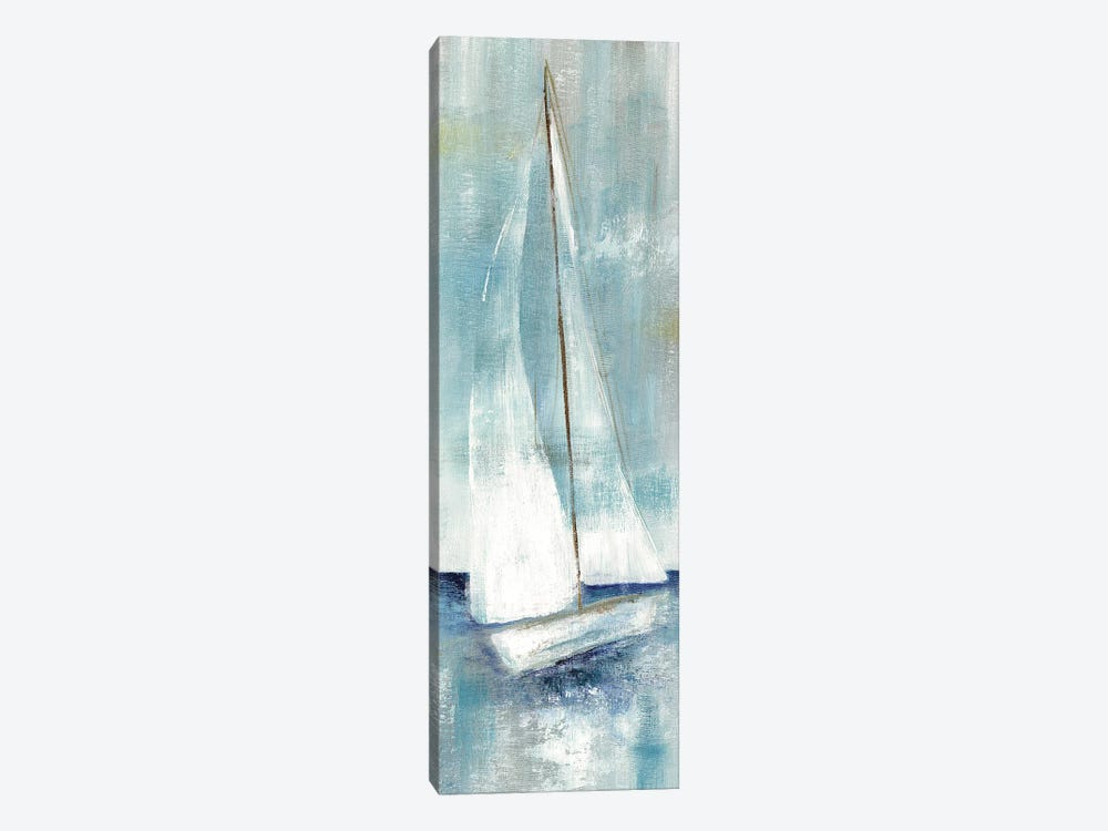 Simply Sailing II 1-piece Canvas Wall Art