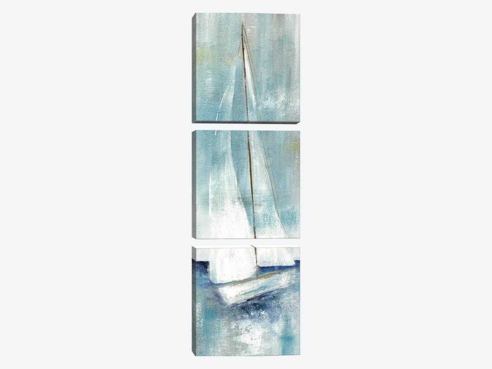 Simply Sailing II 3-piece Canvas Art